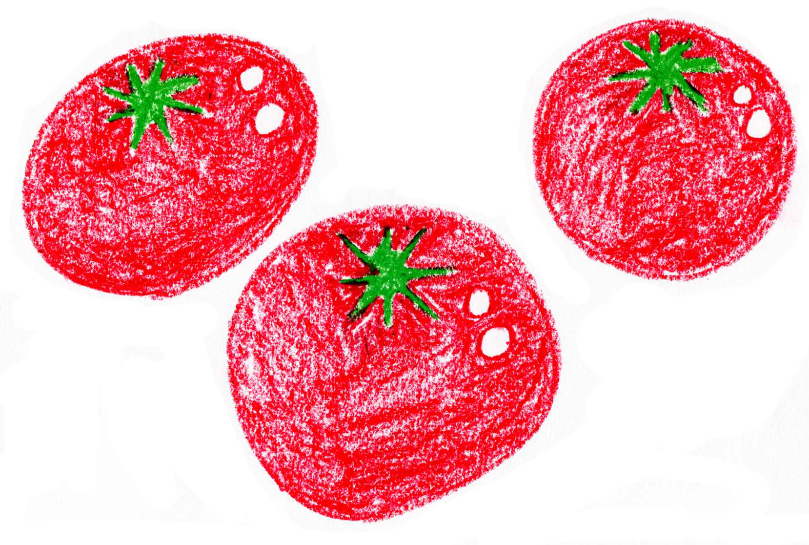 トマトの描き方